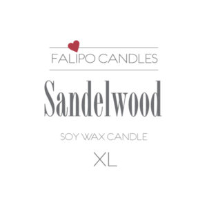 Sandelwood XL etiket