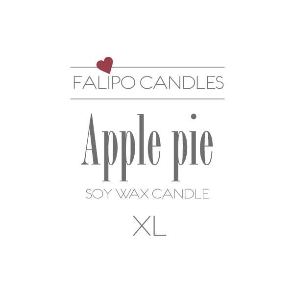 Apple pie etiket XL